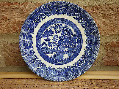 Willow Pattern Saucer plate