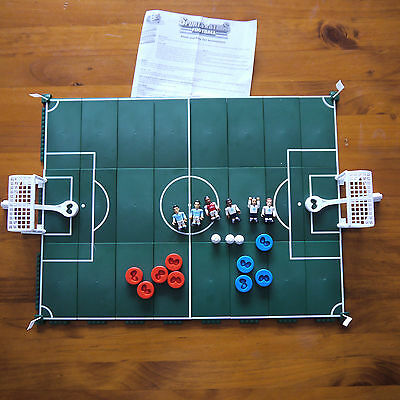 Character Building Sports Stars Football Soccer Pitch and Play Set