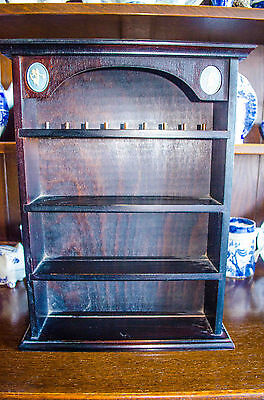 Wedgewood Wall Wood  small unit for Minitures etc-Collection only