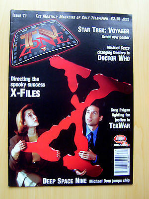 Tv Zone Uk Magazine Issue #71 - The X-Files Featured Edition October 1995