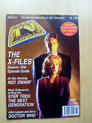 Tv Zone Uk Magazine Issue #61 - The X-Files Featured Edition December 1994