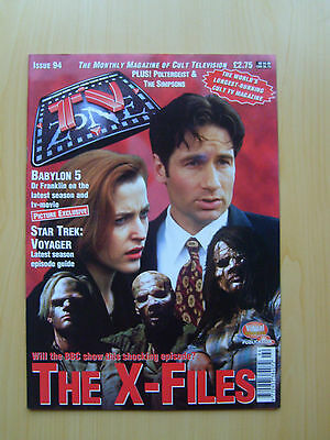 Tv Zone Uk Magazine Issue #94 - The X-Files Featured Edition September 1997