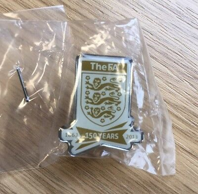 The FA 150th Anniversary Pin Badge. Limited Edition.