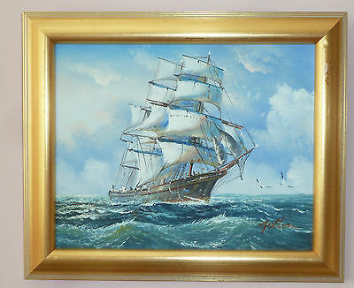 """Superb Oil--On--Canvas  Painting   Original Signed. 12""""  X   10"""""""