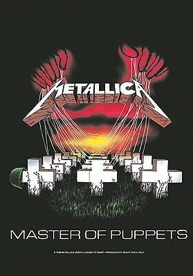 Metallica Master Of Puppets large fabric poster / flag 1100mm x 750mm (mm)