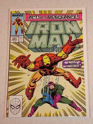 Ironman #251 Vol1 Marvel Comic Acts Of Vengeance Tie In December 1989