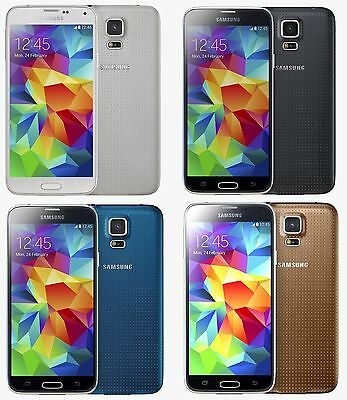 Samsung Galaxy S5 SM-G900 4G Factory GSM Unlocked Android Smartphone