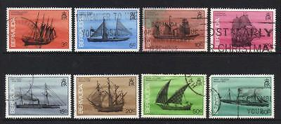 Bermuda 1986 Ships Wrecked 8 Used Values Cat £9+