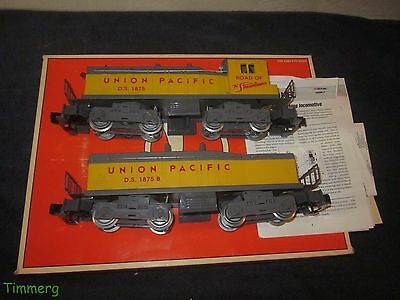 Lionel Trains 6-18939 U.P. Union Pacific NW-2 NW2 Diesel Switcher Set Pair MIB