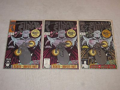 Silver Surfer 50 First Second And Third Prints