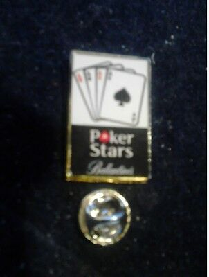 Pin Pins Poker Stars Logo Ballantines Logo Whisky
