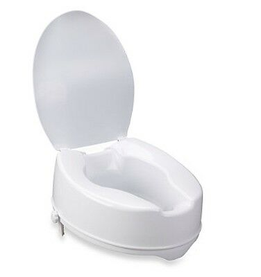 Raised Disability Mobility Medical Handicapped Toilet Seat Bathroom