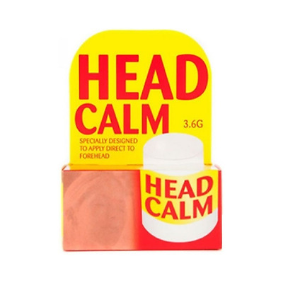 Head Calm Instant 4Head Ache Pain Relief Forehead Cooling & Soothing Stick 3.6g