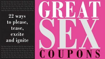 Great Sex Coupons-Sourcebooks Inc