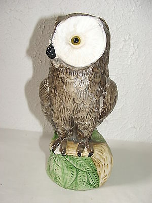 Latex Mould/moulds/mold. Owl Sitting On A Stump Garden Ornament