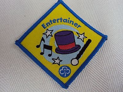Brownie Badge Entertainer  New And Unsewn - 49P