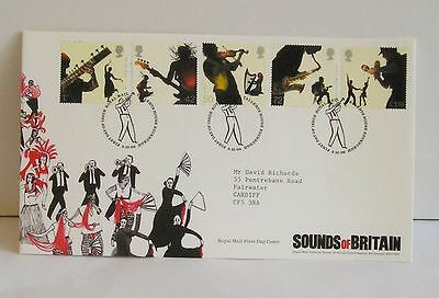 Sounds of Britain Royal Mail First Day Cover 2006