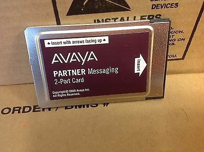 AVAYA PARTNER Messaging 2 Port License Card 515A1 700262454