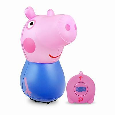 Peppa Pig George Remote Controlled Inflatable Interactive Toy Gift 46Cm Tall New