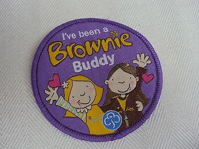 Brownie Badge Brownie Buddy New And Unsewn - 49P