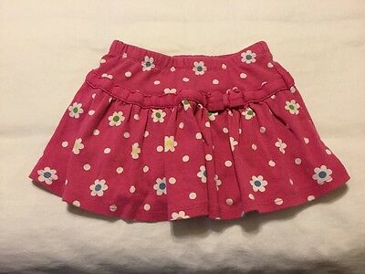 Gymboree Toddler Girls Skirt w/shorts size 3 EUC Loc:G-9114-1