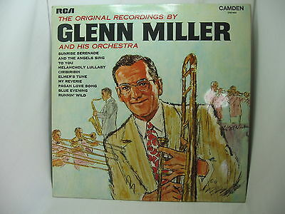 The Original Recordings by Glenn Miller and his Orchestra, Vinyl Record LP