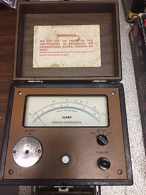 Vintage Thermo-Anemometer  Alnor
