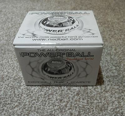 New=The All Original Power Ball Signature Series Limited Edition Nds Gyroscope