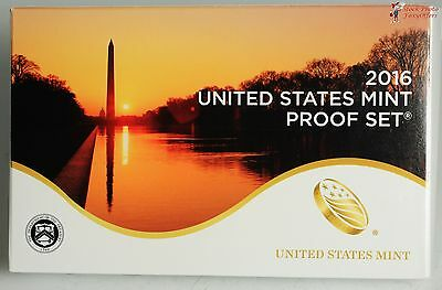 2016 US Mint 13 Piece Proof Set in Original Mint Box with COA