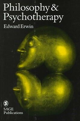 Philosophy and Psychotherapy by Edward Erwin Hardcover Book (English)