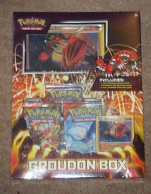 Pokemon Groudon & Kyogre Collectors Sealed Boxes, Set Of 2
