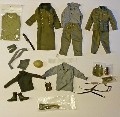 Action figure 1/6 - DRAGON SET 1 GERMAN WAFFEN WWII