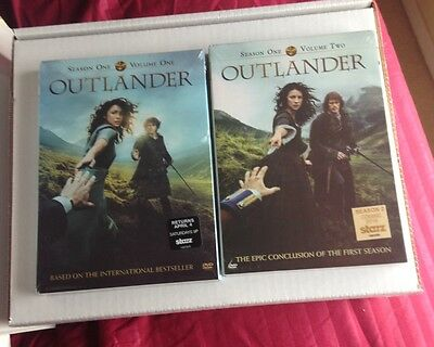 Outlander: Season 1, Vol. 1 & 2 DVD NEW FAST FREE SHIPPING!!