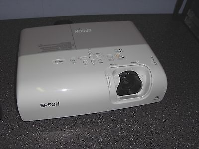 EPSON EMP-X5 HD LCD Office or Home Cinema Projector - Only 52 Hours Use on Lamp