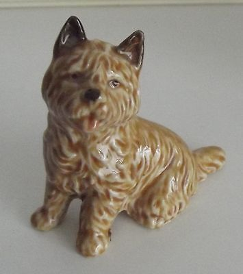 CAIRN TERRIER, Beautiful WADE ceramic, china dog ornament, figurine