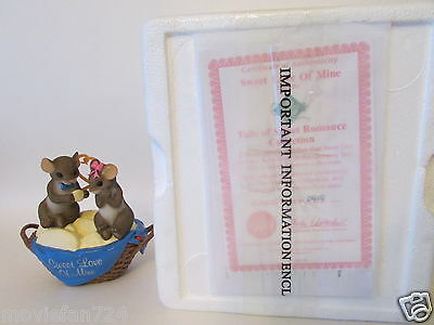 Charming Tails of Romance Sweet Love of Mine - Hamilton Collection w/ COA NEW