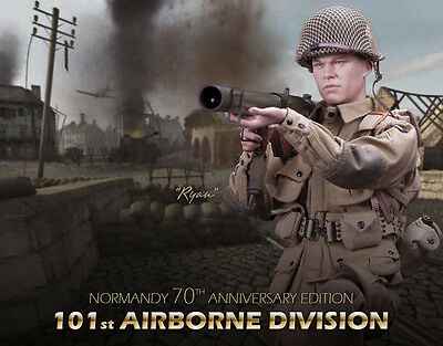 Action figure 1/6 DID – WWII  US  101st Division – RYAN - NORMANDY