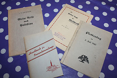 Vintage Written in German Book Lot