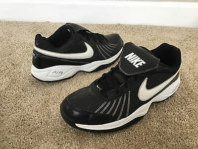 Nike Air Athletic Shoes Men's Size 13M Black Leather