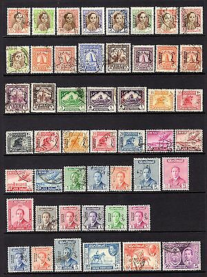 IRAQ EARLY TO MID PERIOD GOOD TO FINE USE RANGE x 49 STAMPS NOT CAT BY ME