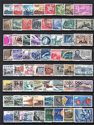 ITALY MID PERIOD TO MODERN GOOD TO FINE USE RANGE x 134 STAMPS NOT CAT BY ME