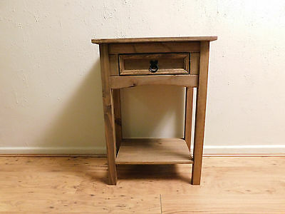 Solid Wood Pine Console Table | Solid Wood Hall Side/End/Lamp/Telephone/bedside