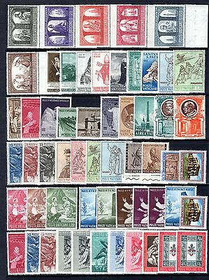 VATICAN MID PERIOD TO MODERN MNH SETS/ODDS RANGE x 93 STAMPS NOT CAT BY ME