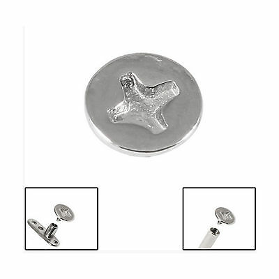 SURGICAL STEEL Screw Dermal Anchor Attachment - FREE UK Delivery!
