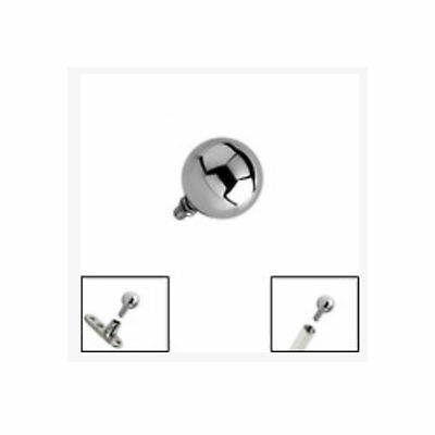 SURGICAL STEEL Ball for 1.6mm Internal Thread Jewellery - FREE UK Delivery!