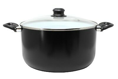 CONCORD 10 QUART Eco Friendly Ceramic Nonstick Dutch Oven Casserole Pot Cookware