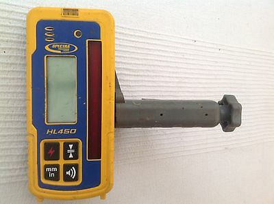 Spectra HL450 Laser Receiver/Detector and Clamp