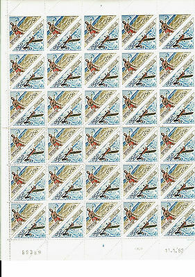 Congo Neufs**  Planche Datee 1962  - 60 Timbres