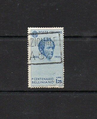 Italy 1935 Bellini Centenary 1L25 Stamp - Sg 465 Good Used High Cat Value £13