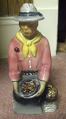 1969 Heritage China F26 Ezra Brooks Miner Decanter